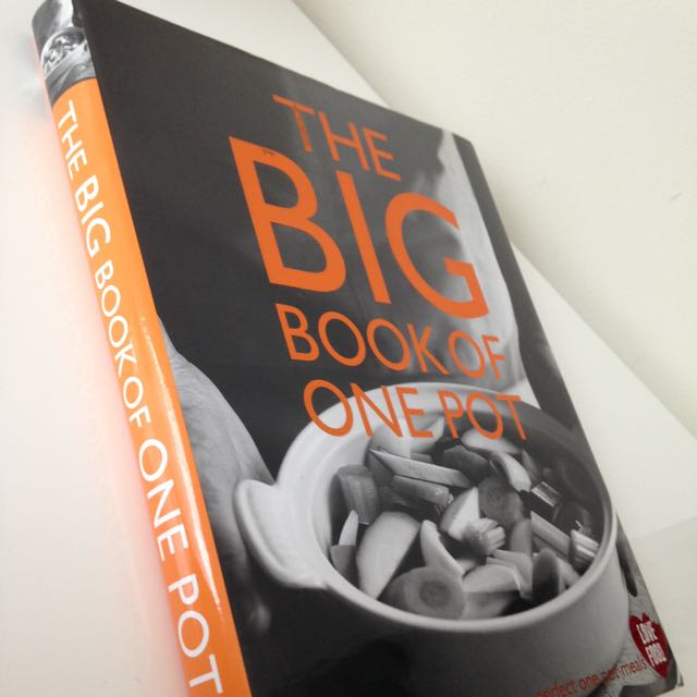 The big book of one pot, Love food Cooking Book