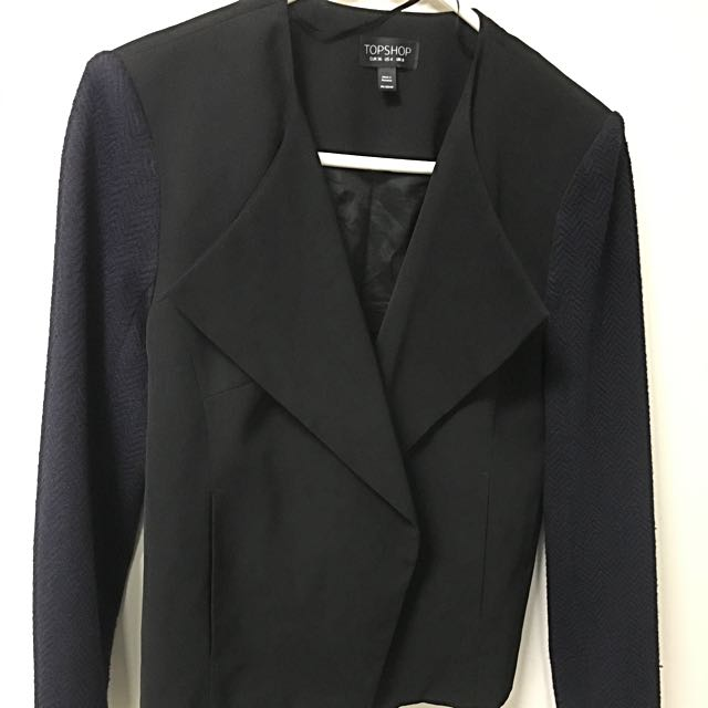 Topshop Waterfall Blazer