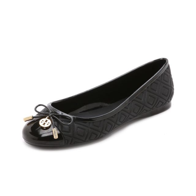 955e49b11 Tory Burch Jelly Flats In Black