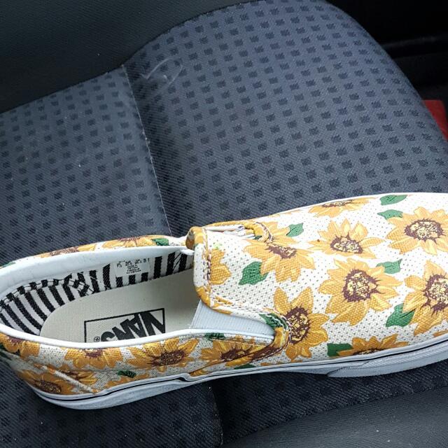 VANS sunflower