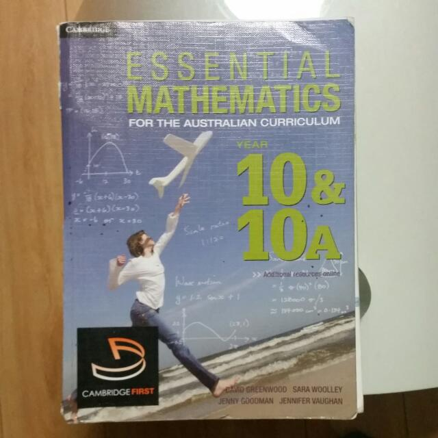 YEAR 10 Essential Mathematics for The Australian Curriculum