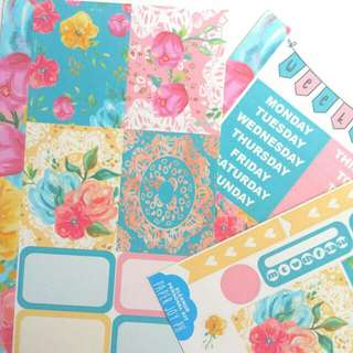 Crafting, Scrapbooking, Journaling and Planning Stickers |  ELEANOR