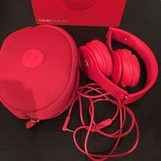 Beats by Dr. Dre ❤️ Solo HD 2 Matte Red