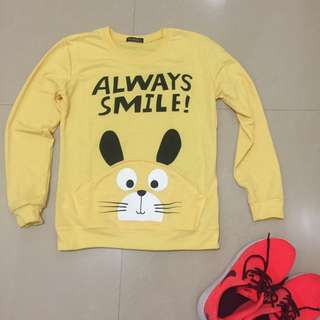 Cartoon Sweater (Free SF)