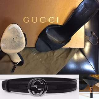 Gucci Sandals / Shoes & Belt