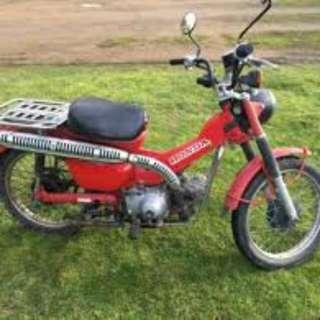1988 Honda Ct110 Postie Bike