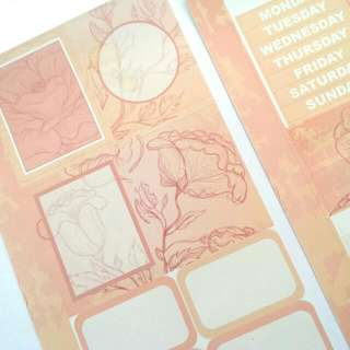 Crafting, Journaling, Scrapbooking and Planning Stickers | ROSALIND