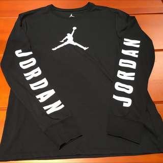 Nike Air Jordan 男生 長袖 大學T 喬登 棉質T恤 公牛隊 23號 AJ 31 NBA 時尚黑白 明星賽 季後賽  藤原浩 韓風 日本 美式 街頭 GD 潮流