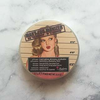 The Balm Mary Lou Manizer Highlighter 100% Authentic