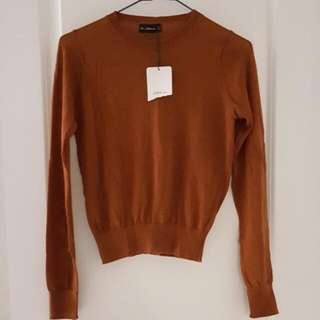 Burnt Orange Zara Knit (Reserved)