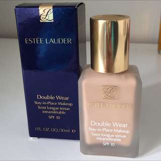 Estée Lauder Double Wear Foundation As New 2N2 Fresco