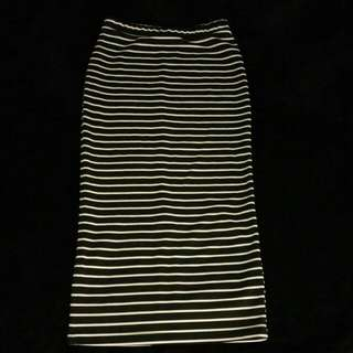 Calf Length Pencil Skirt