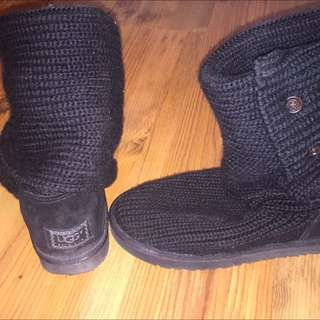 Uggs Knit Boots Size 8
