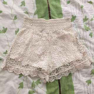 Lace Short Size S/8
