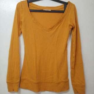 Terranova Mustard Long Sleeves