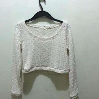 Sweater Croptop
