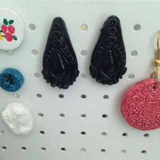 Drop earrings (Stud) Made To Order