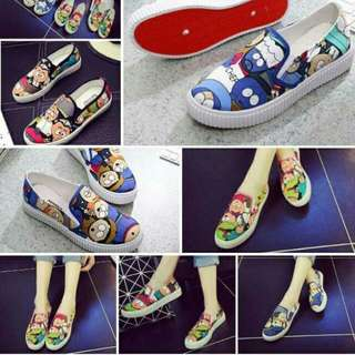 Cartoons Slip On Shoes