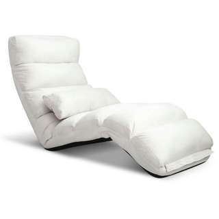 Lounge Sofa Chair - 75 Adjustable Angles – Ivory