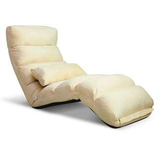 Lounge Sofa Chair - 75 Adjustable Angles – Taupe