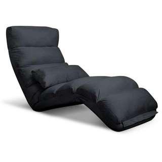 Lounge Sofa Chair - 75 Adjustable Angles – Charcoal