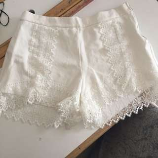 White Shorts BNWT