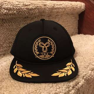 Black And Gold TNA Hat