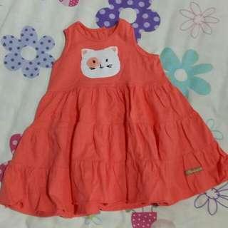 Peppermint Meow Dress