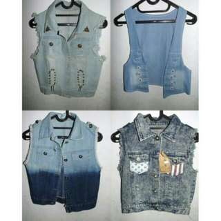 ROMPER DENIM ALL SIZE
