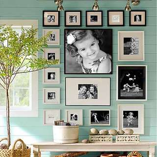 Wall Photo Frame 8pcs Set