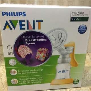 Breastpump manual Avent Standard