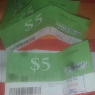 6×$5 CapitaVoucher for $25