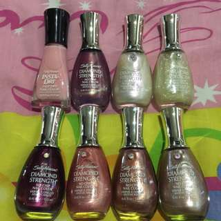 Sally Hansen Assorted Nail Polish (8pcs)