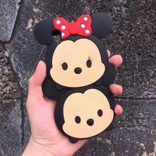 Mickey & Minne Tsumtsum Rubber Case