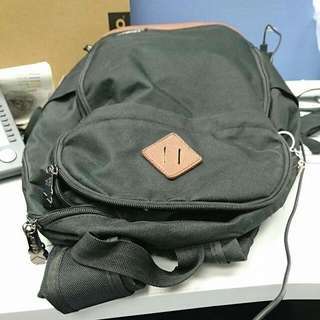 黑色Backpack