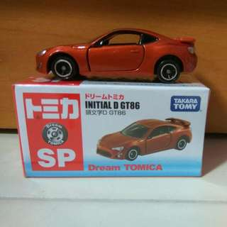 🚚 Dream Tomica Initial D GT86