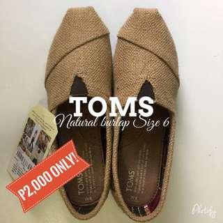 Toms Natural Burlap