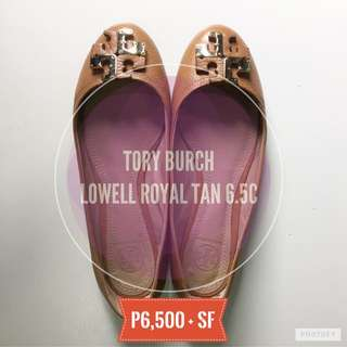 Preloved Tory Burch Lowell Flat-C Tumbled Size6