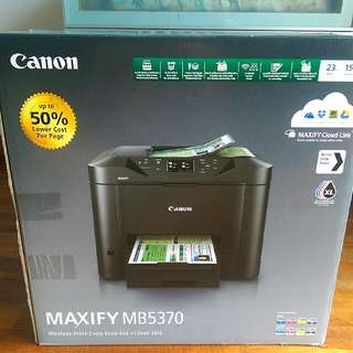 Canon Maxify MB5370 Wireless Business All In One Printer BNIB