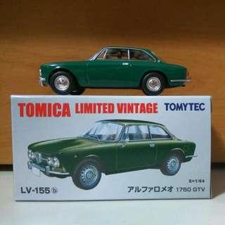 Tomica Limited Vintage LV-155b Alfa Romeo 1750 GTV (green)