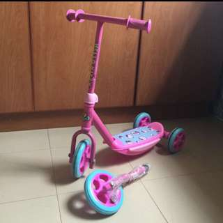 Preloved Hello Kitty Scooter