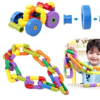 Pipes Interlocking Toys