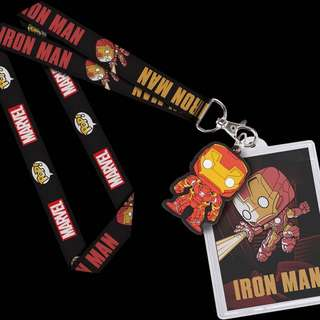 Funko Pop Lanyard Ironman Collectible Gift Marvel