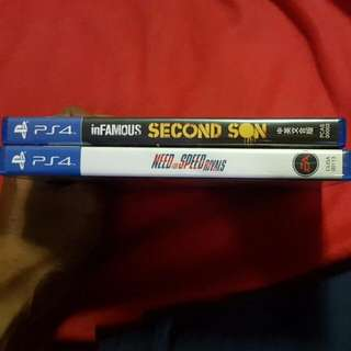 Ps4 Games  Condition-10/10