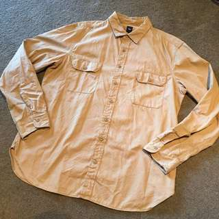 Gap Camel Shirt Size XL