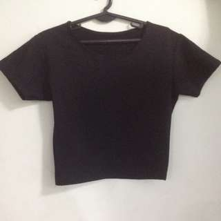 Fitted crop top