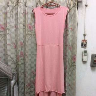 Dress Kaos Hi Lo