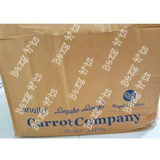 Authentic ANELLO bags backpack from Carrot Company, unisex!