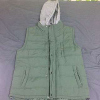 Cotton On Khaki Puffer Vest