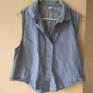 American Apparel Denim Top
